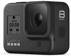 1. GoPro HERO8 Black med 12mp och +HDR-stöd